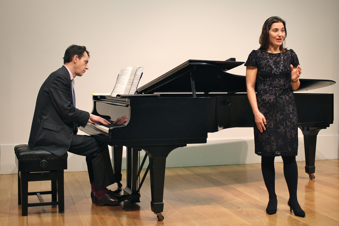Guy Newbury (piano) and Danae Eleni (soprano)